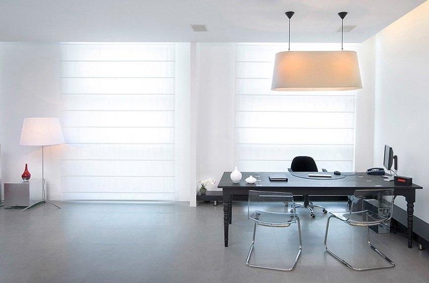 кабинет руководителя в стиле минимализм