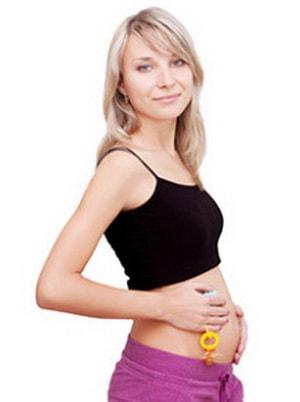 беременная на 1 триместре