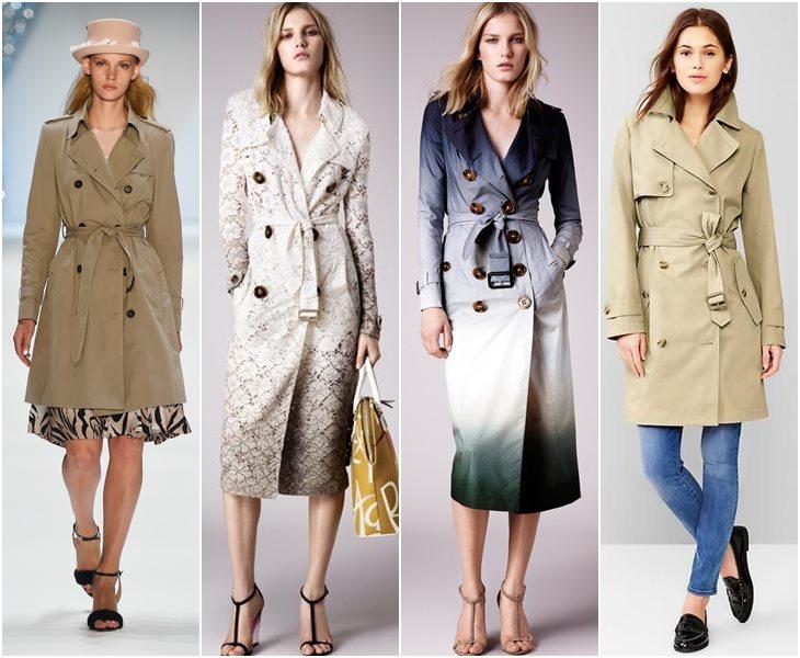 Модные плащи