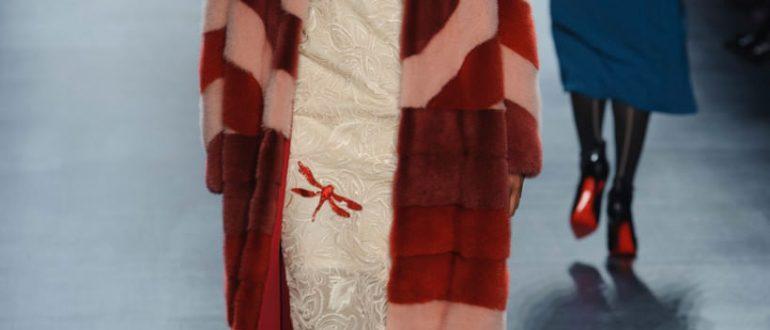 Модные цвета норковых шуб рисунок 6