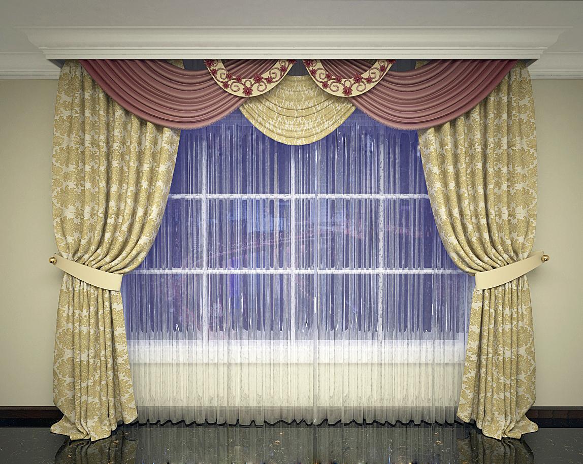 классическая штора