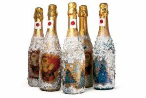 Примеры оформления бутылок фото 5