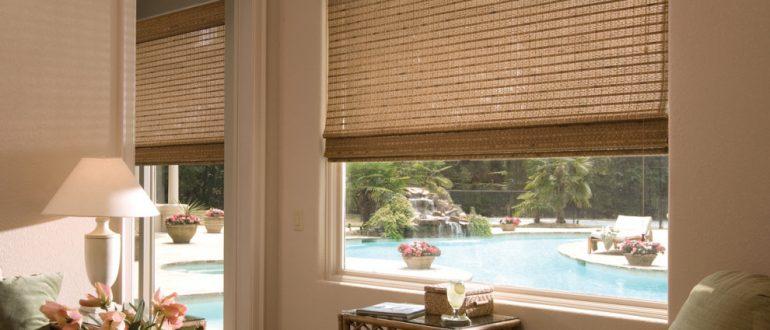 шторы бамбук