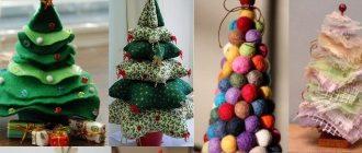 Создание новогодней елочки своими руками