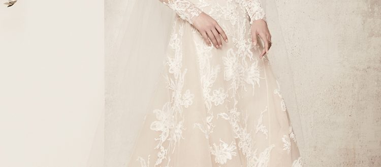 Свадебные платья цвет 2018 фото 1
