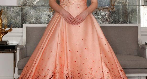 Свадебные платья цвет 2018 фото 10