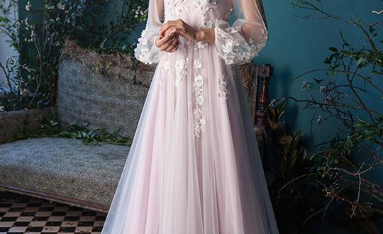 Свадебные платья цвет 2018 фото 2