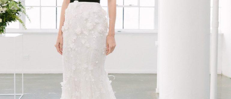 Свадебные платья цвет 2018 фото 5