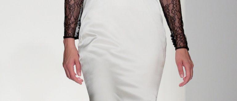 Свадебные платья цвет 2018 фото 6