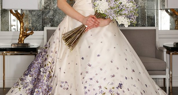 Свадебные платья цвет 2018 фото 9