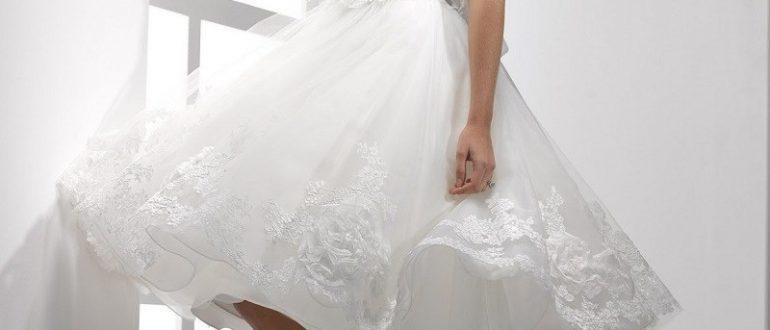 Свадебные платья короткие фото 1