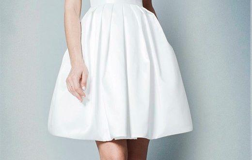 Свадебные платья короткие фото 3