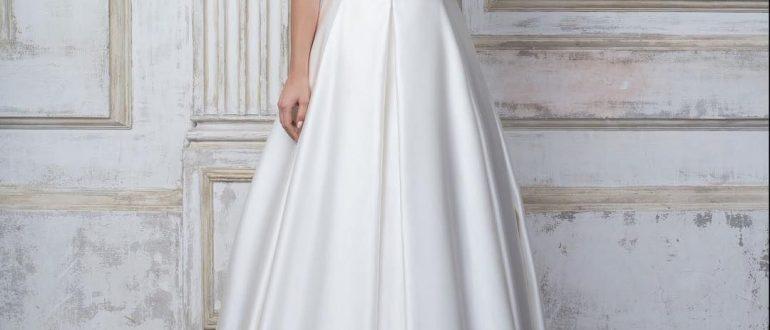 Свадебные платья минимализм 2018 фото 1