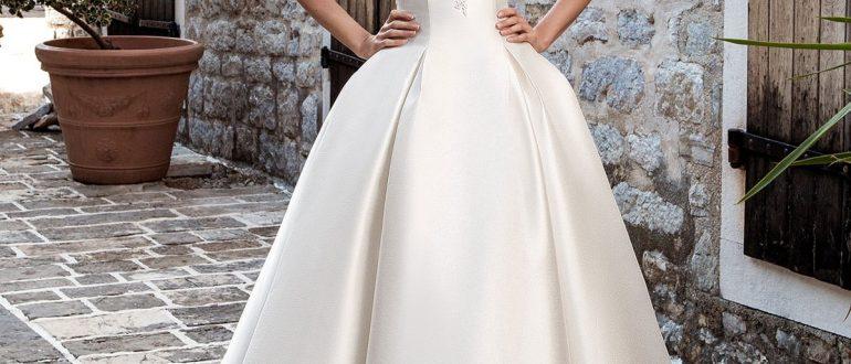 Свадебные платья минимализм 2018 фото 3