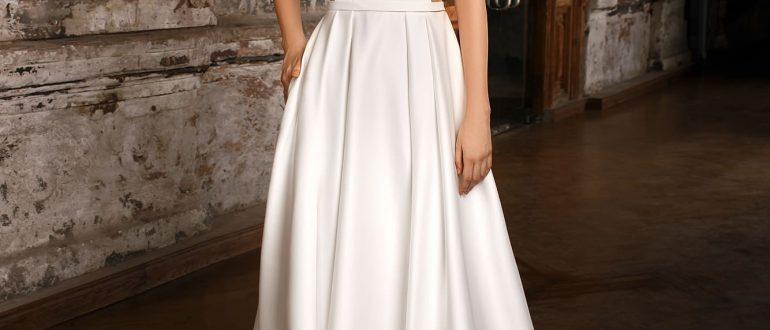 Свадебные платья минимализм 2018 фото 4