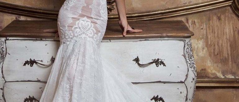 Свадебные платья русалка 2018 фото 2