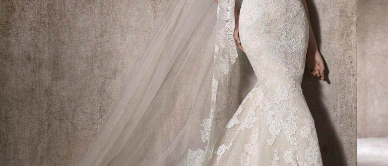 Свадебные платья русалка 2018 фото 4