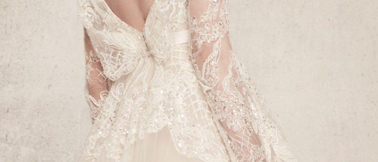 Свадебные платья с открытой спиной фото 2