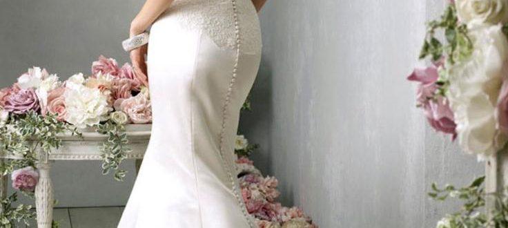 Свадебные платья с открытой спиной фото 3