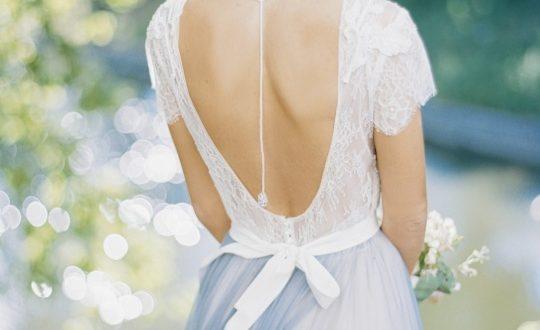 Свадебные платья с открытой спиной фото 4