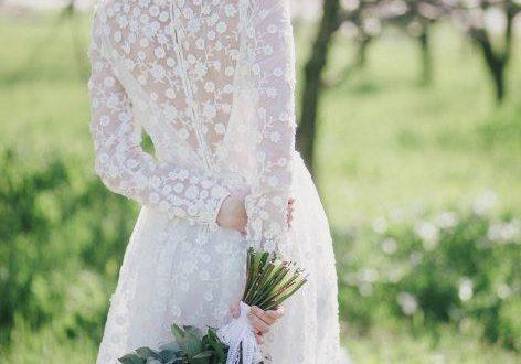 Свадебные платья с рукавами 2018 фото 1