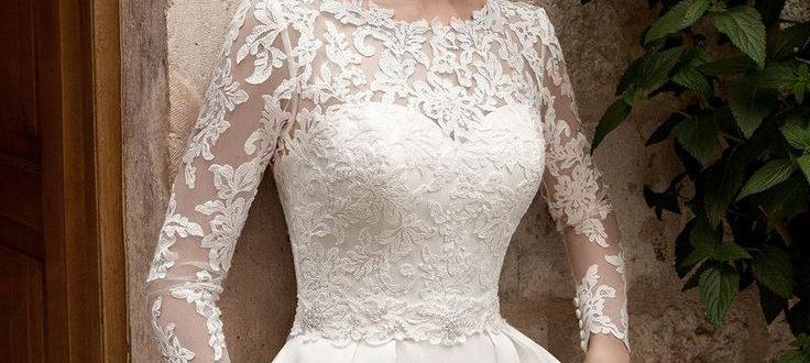 Свадебные платья с рукавами 2018 фото 3