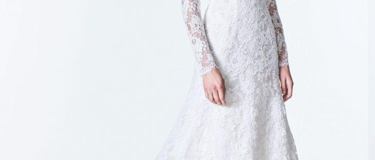 Свадебные платья с рукавами 2018 фото 4