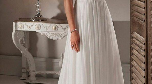Свадебное платье в греческом стиле фото 2