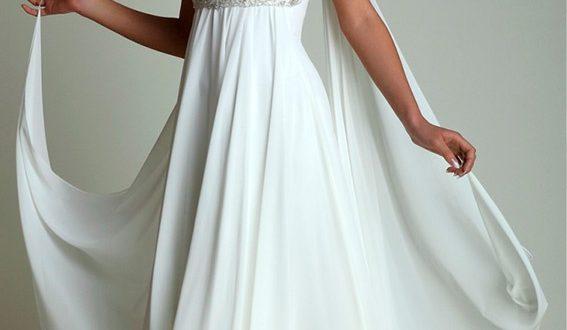 Свадебное платье в греческом стиле фото 4