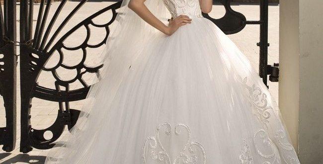 Свадебное пышное платье фото 1