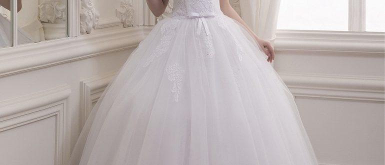 Свадебное пышное платье фото 2