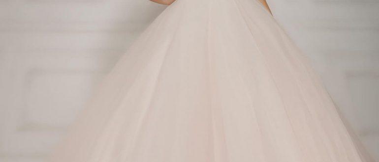 Свадебное пышное платье фото 3