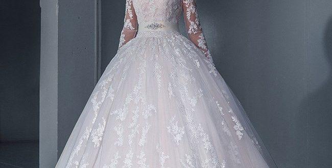Свадебное пышное платье фото 4