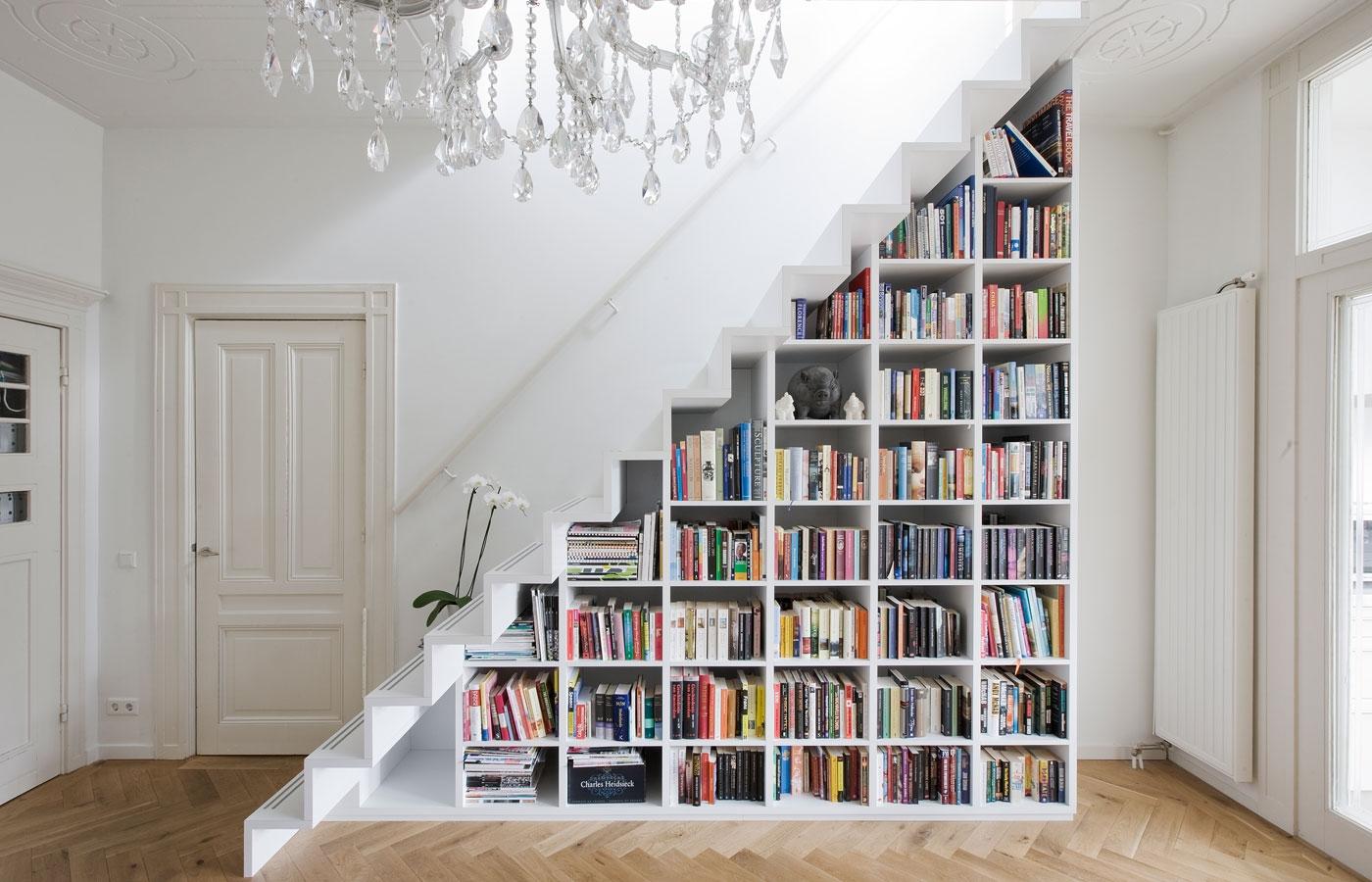 Дизайн современных лестниц в доме 3