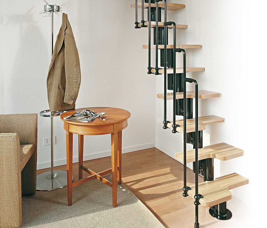 Гусиный шаг лестница