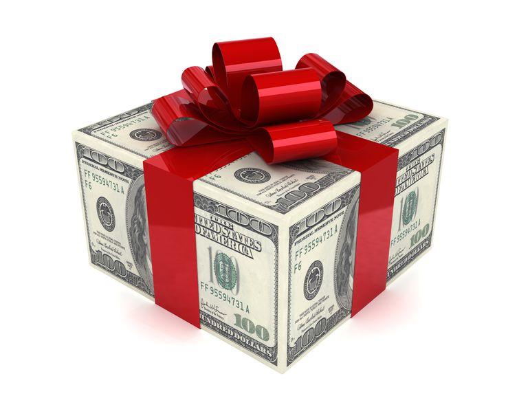 как дарить деньге в шкатулке