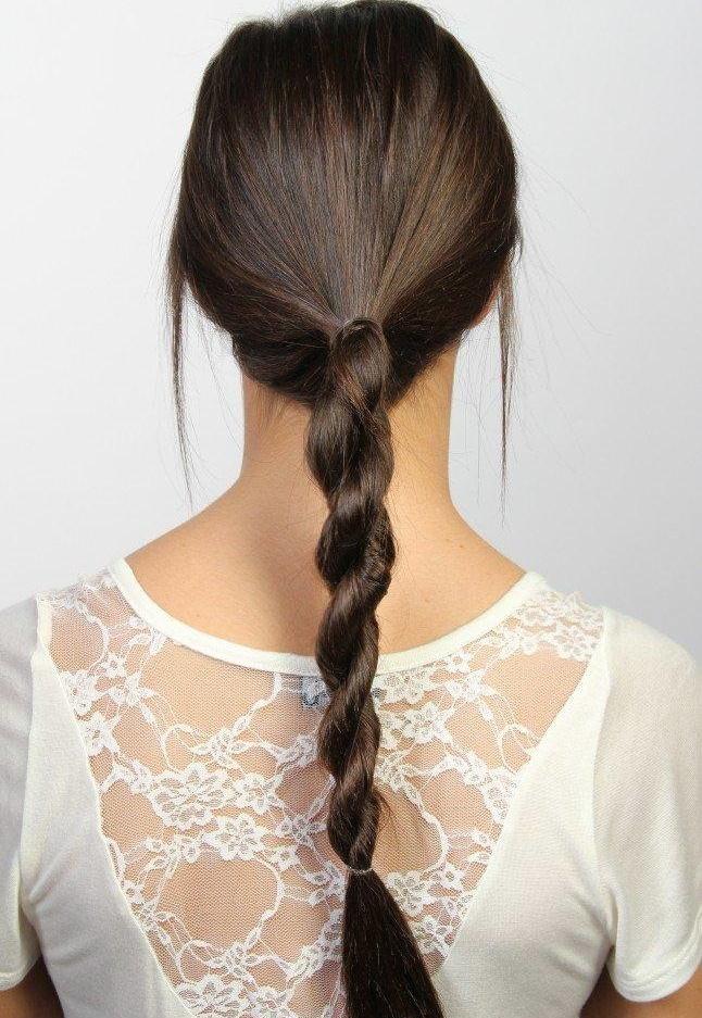 Коса-жгут