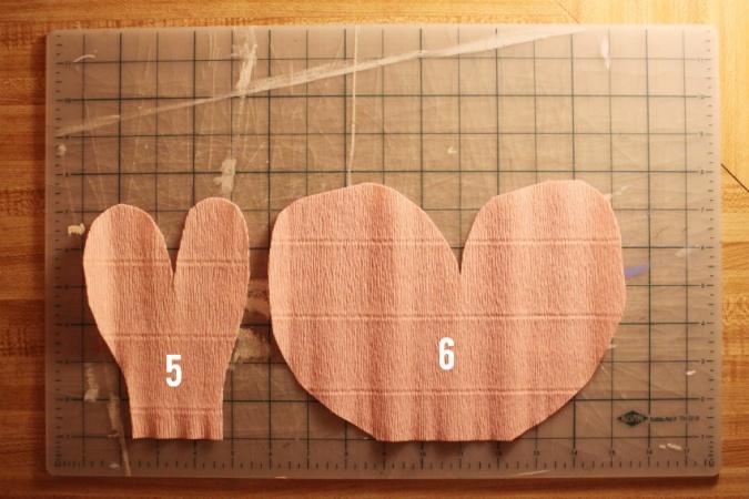 Лепестки для пиона 5-6