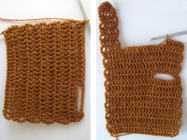 Вязание мезинца