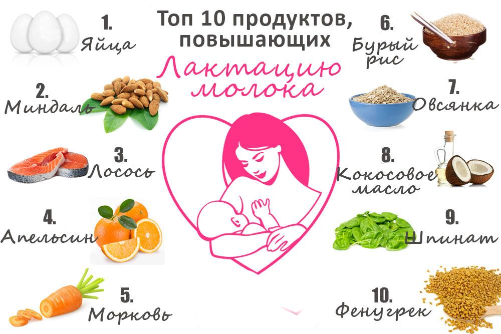 Что повышает лактацию у матери