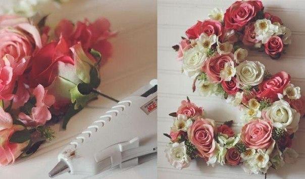 Крепление цветов