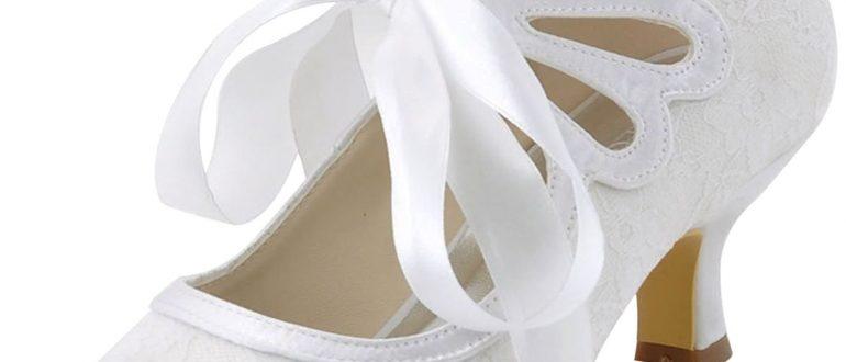 свадебные туфли в стиле Гэтсби