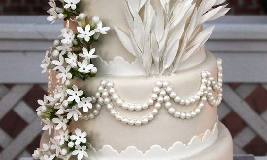 свадебный торт в стиле Гэтсби