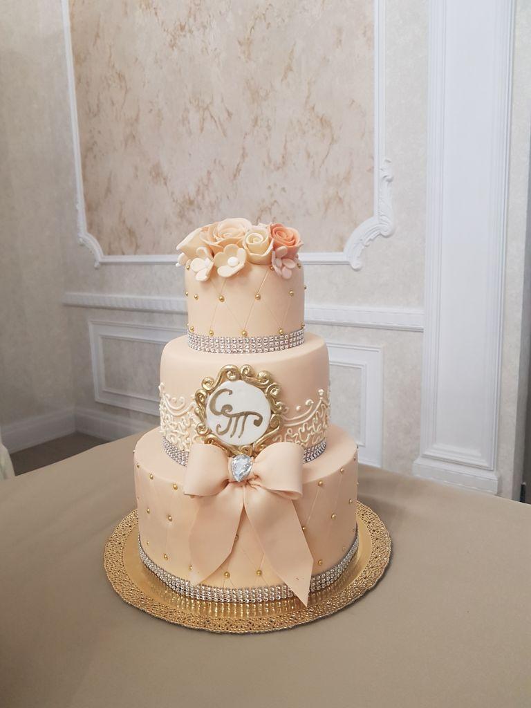 рамки на свадебном торте