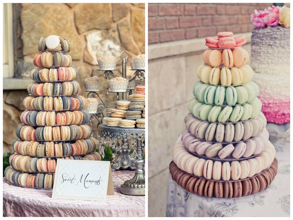 Свадебный торт из макарун