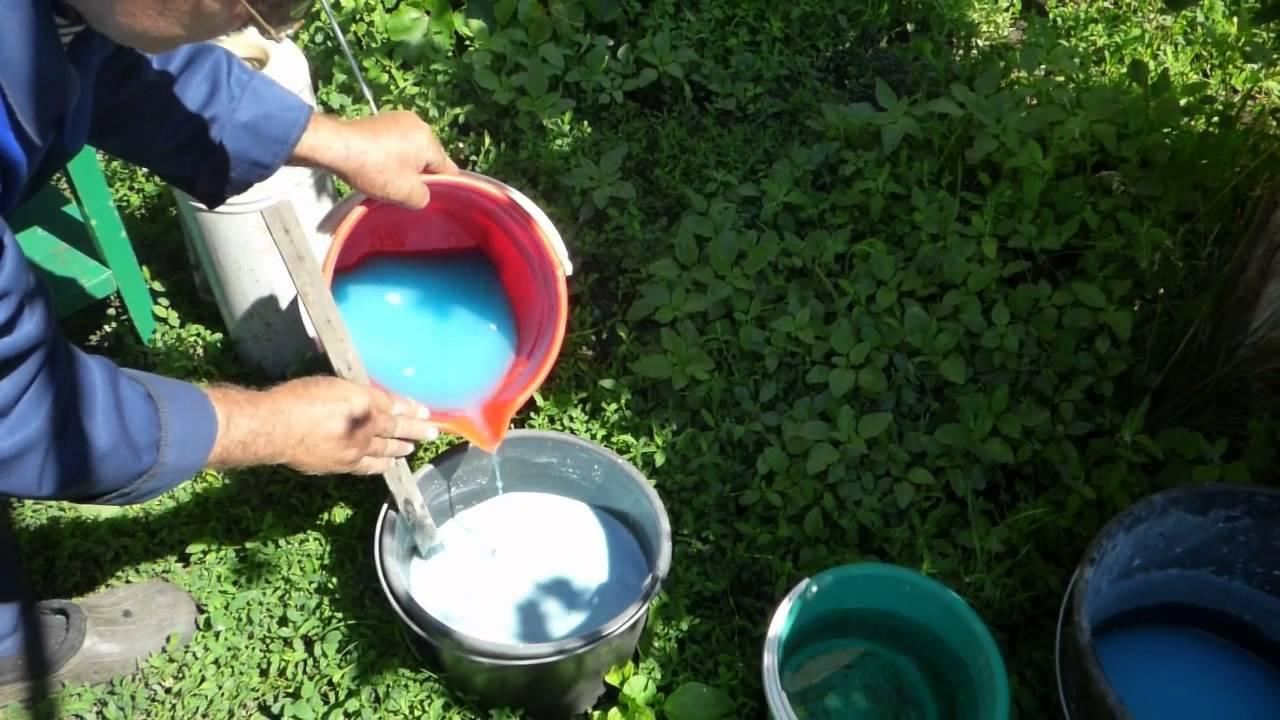 Как готовить бордоскую жидкость