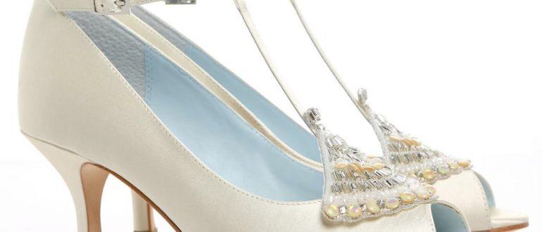 свадебные туфли в стиле Гєэтсби