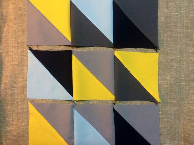 Раскладка треугольников