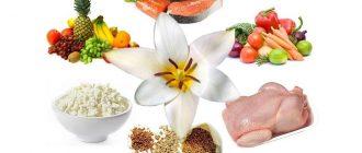 Лепестковая диета для похудения