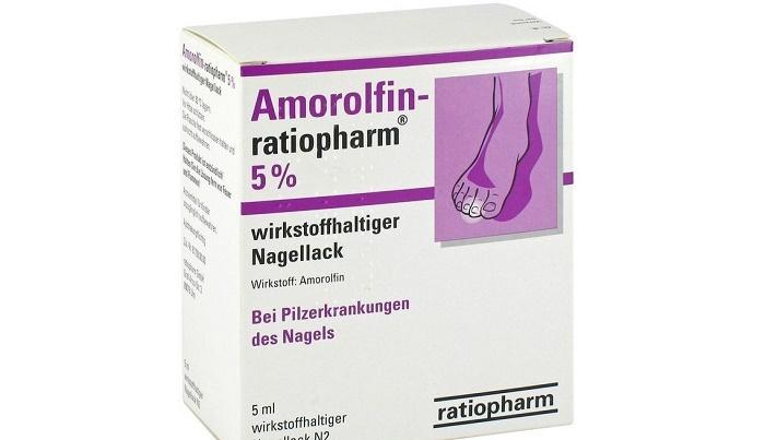Препараты от грибка ногтей с аморолфином